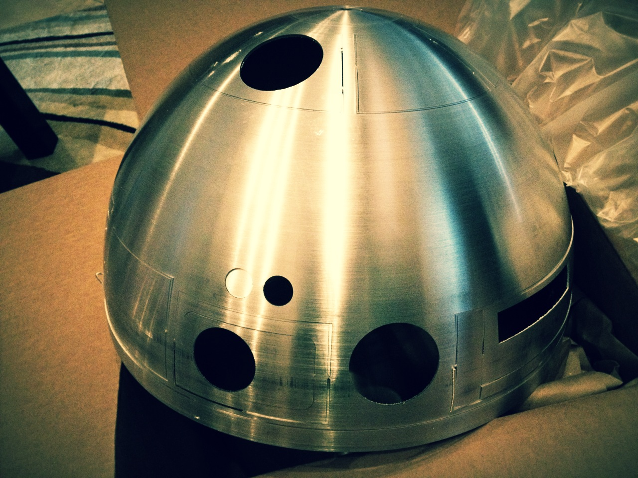 R2 Dome Arrival